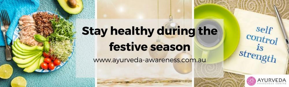 stay healthy during festive season